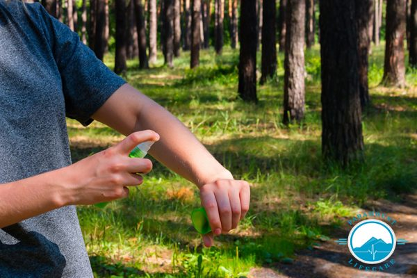 How to keep insects away while staying outdoors