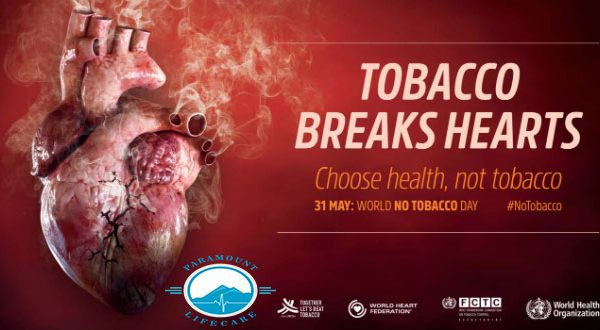 World No Tobacco Day, 2018